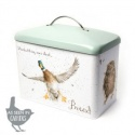 WRENDALE DESIGNS BREAD BIN HARE,OWL,DUCK