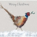 WRENDALE DESIGNS LUXURY BOXED CARDS CHRISTMAS COLOURS 8 CARDS