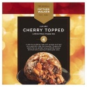 MATTHEW WALKER LUXURY CHERRY TOPPED CHRISTMAS PUDDING
