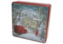 GRANDMA  WINTER VILLAGE TIN