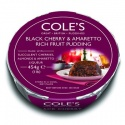 COLE'S BLACK CHERRY & AMARETTO RICH FRUIT PUDDING