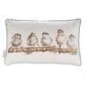 WRENDALE DESIGNS CUSHION CHIRPY CHAPS CUSHION