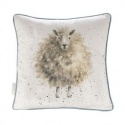 WRENDALE DESIGNS CUSHION THE W00LLY JUMPER SHEEP