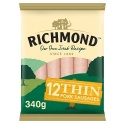 RICHMOND IRISH RECIPE THIN PORK SAUSAGES