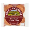 VALE OF MOWBRAY 4 PORK PIES