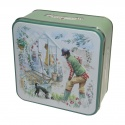 GRANDMA WILD'S EMBOSSED POTTING SHED TIN