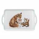 WRENDALE DESIGNS LARGE FOX MELAMINE TRAY