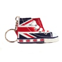 UNION JACK BOOT KEYRING