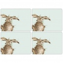 WRENDALE DESIGNS HARE PLACEMATS S/4