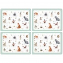 WRENDALE DESIGNS PLACEMATS S/4