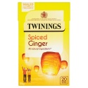 TWININGS SPICED GINGER 20 TEA BAGS