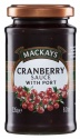 Mackays cranberry sauce port