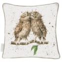 WRENDALE DESIGNS CUSHION BIRDS OF A FEATHER