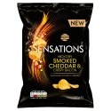WALKERS SENSATIONS HICKORY SMOKED CHEDDAR & CRISPY BACON