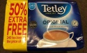 SPECIAL OFFER TETLEY 80 + 100 % FREE  160 BAGS