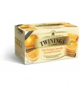TWININGS ORANGE CINNAMON 25 TEA BAGS