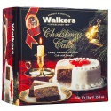 WALKERS LUXURY CHRISTMAS CAKE WITH BRANDY ICED